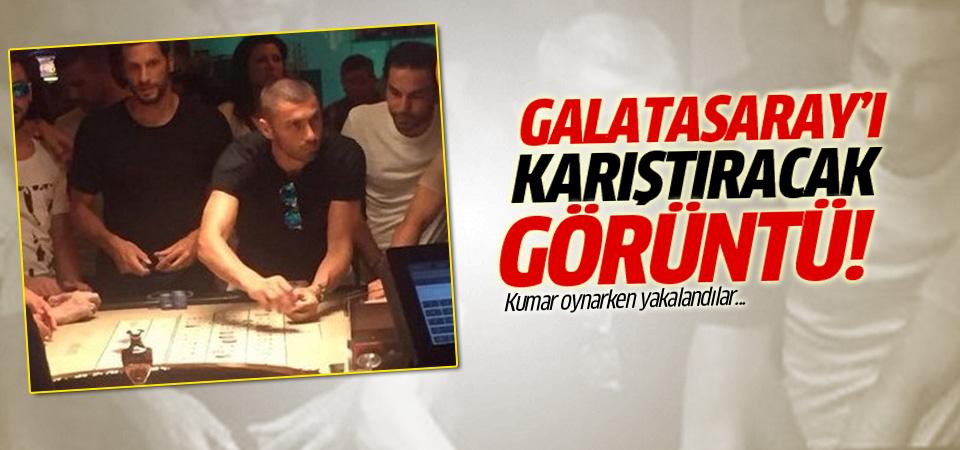 Galatasaraylı futbolcuların kumar fotoğrafı yayınlandı!