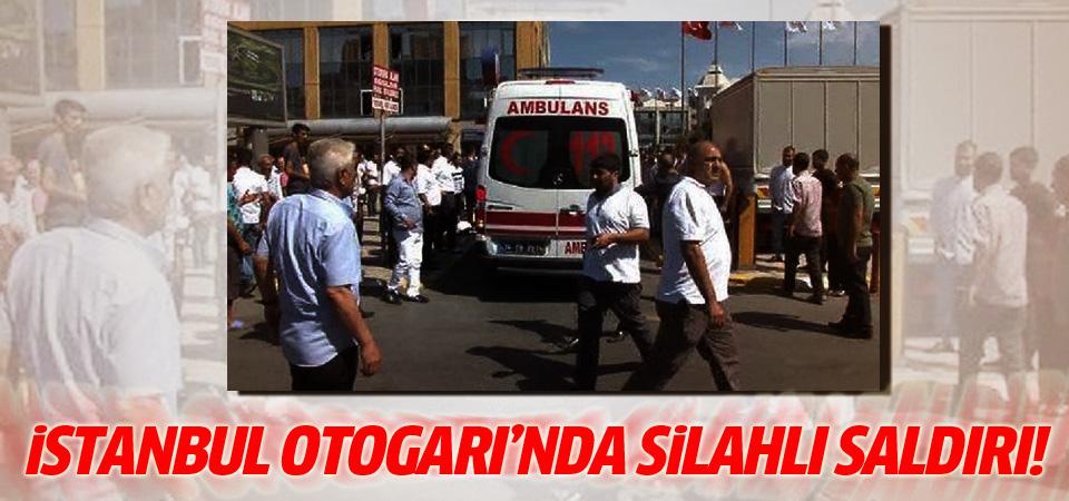 İstanbul Otogarı'nda silahlı saldırı! Yaralılar var...