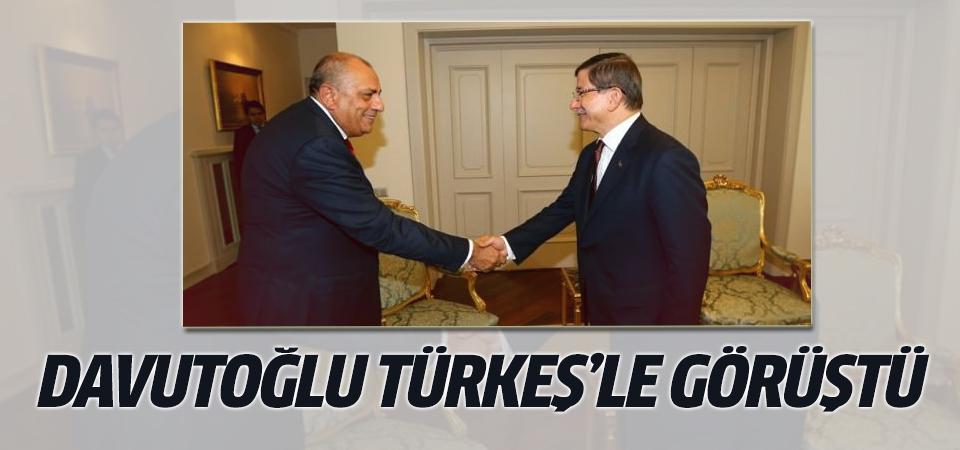 Davutoğlu- Türkeş görüşmesi başladı