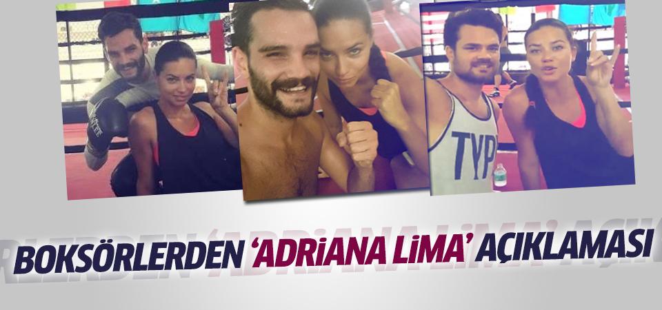 Öner kardeşlerden 'Adriana Lima' açıklaması