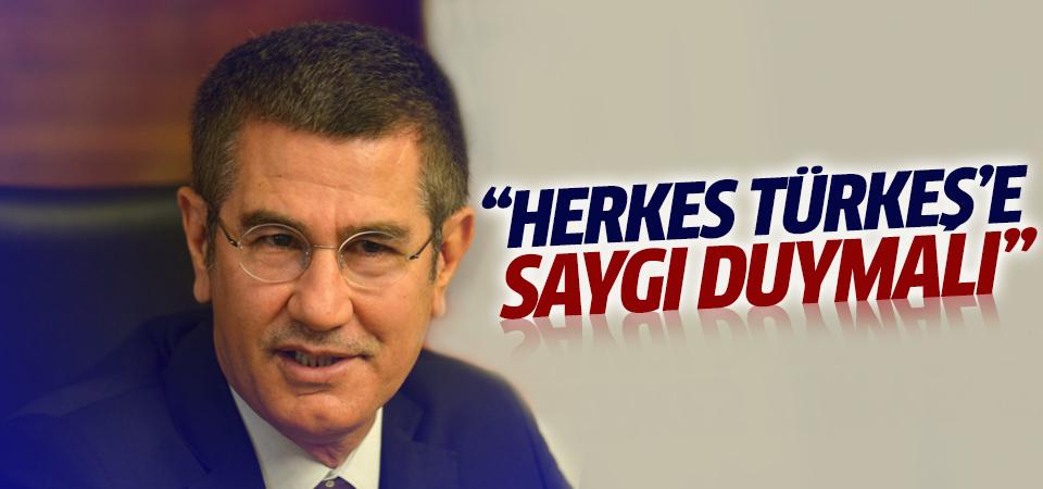Canikli: Türkeş'e herkes saygı duymalı