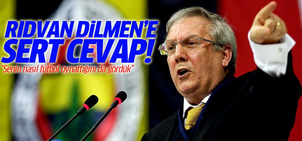 Aziz Yıldırım'dan Dilmen'e sert cevap!