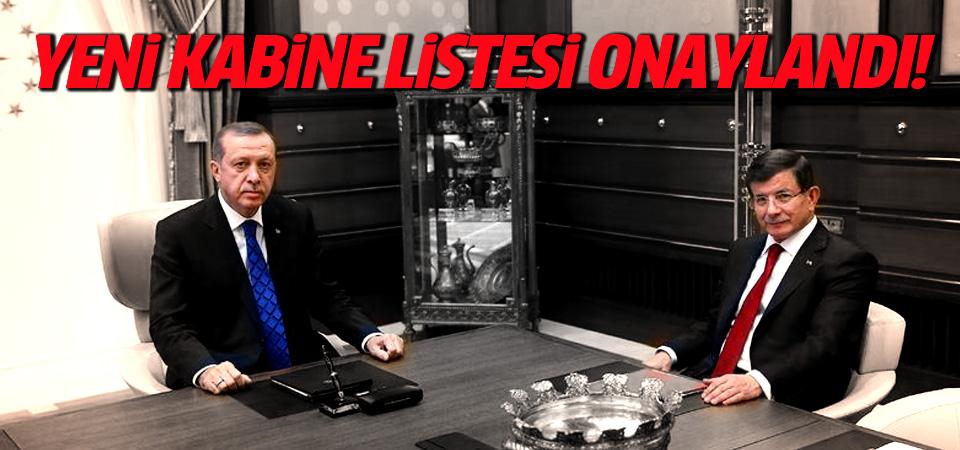 Erdoğan yeni kabineyi onayladı!