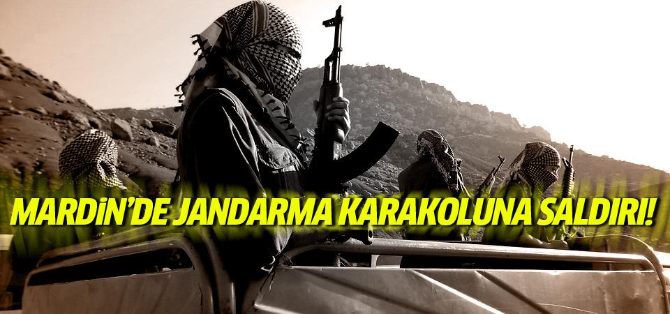 Mardin'de karakola saldırı: 1 asker yaralı!