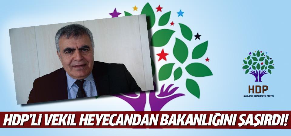 HDP'li Müslüm Doğan ne bakanı olduğunu şaşırdı!