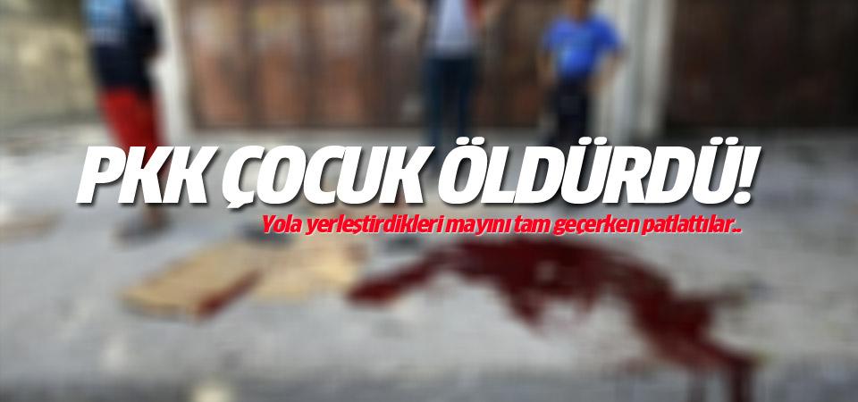 PKK Silvan'da çocuk öldürdü!