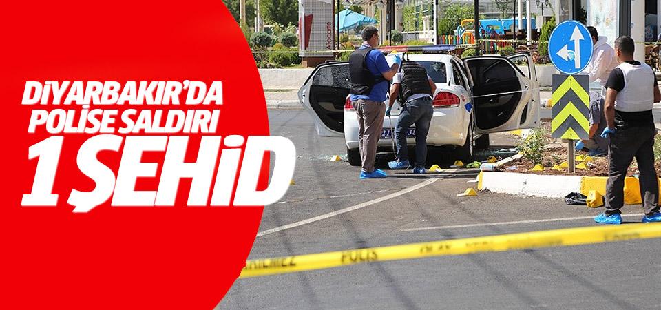 Polis aracına silahlı saldırı: 1 şehit