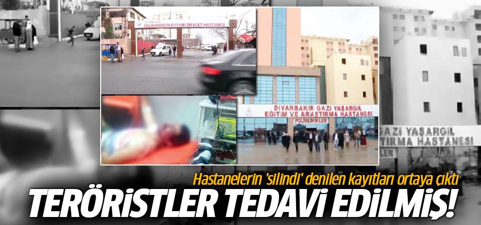 Hastanelerin 'silindi' denilen kayıtları ortaya çıktı! Teröristler tedavi edilmiş