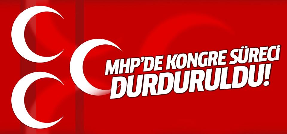 MHP'de kurultay sürecine mahkeme 'dur' dedi