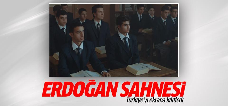 TRT'nin yeni dizisindeki Erdoğan sahnesi Türkiye'yi ekrana kilitledi