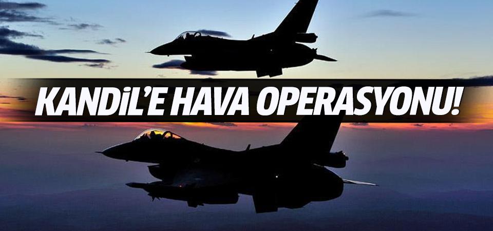 TSK, PKK hedeflerini 18 uçakla vurdu