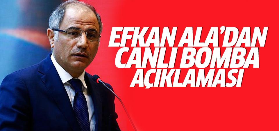 Bakan Ala Bursa'daki canlı bombayı açıkladı