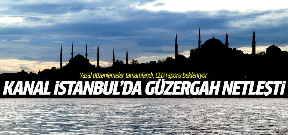 Kanal İstanbul projesinde güzergah netleşti