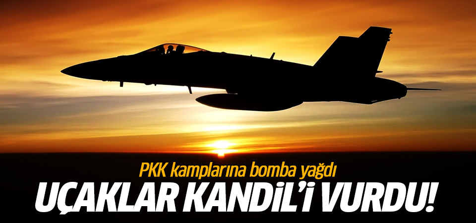 TSK Kandil'i vurdu