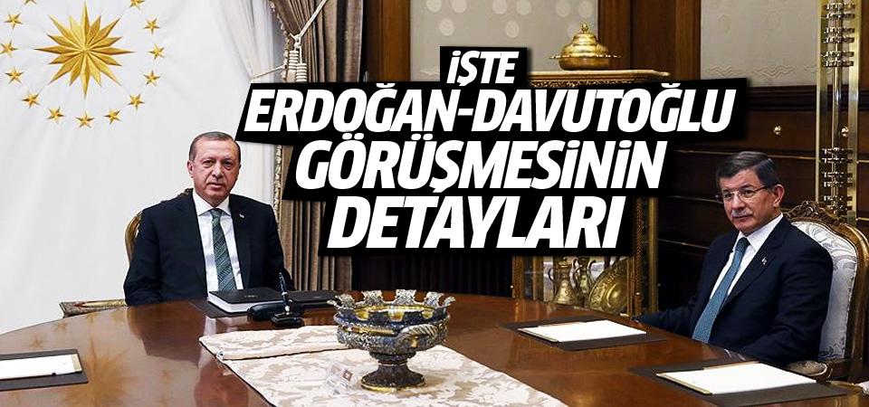 Erdoğan, Davutoğlu ile ne konuştu?