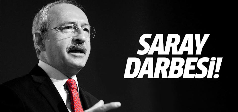 Kılıçdaroğlu'ndan Davutoğlu açıklaması: Saray darbesi