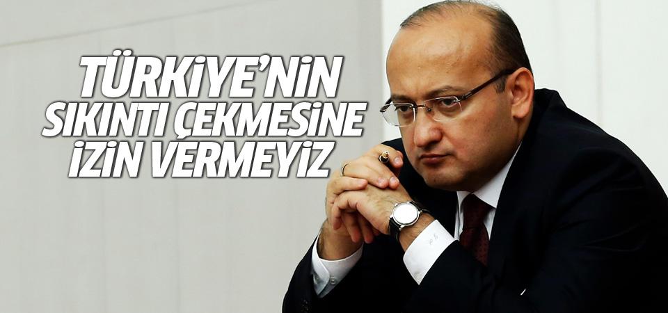 Akdoğan: Halkımız müsterih olsun