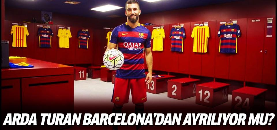 Arda Turan Barcelona'dan ayrılıyor mu?