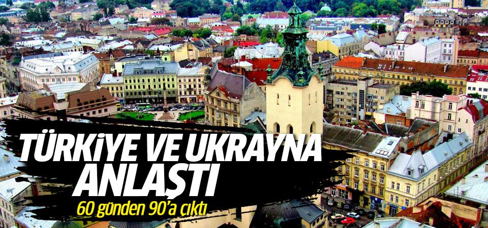Türkiye ile Ukrayna anlaştı