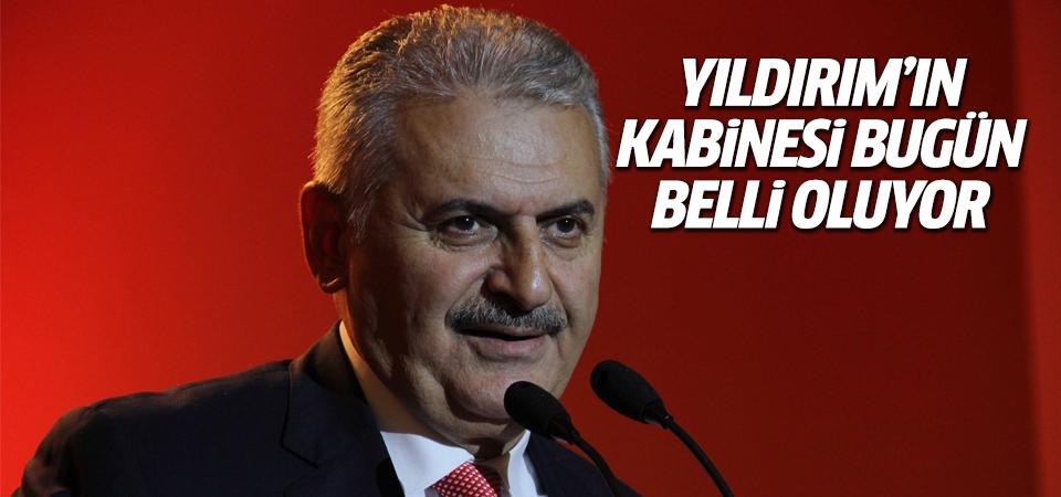 Binali Yıldırım kabine listesini bugün 10.00'da Erdoğan'a sunacak