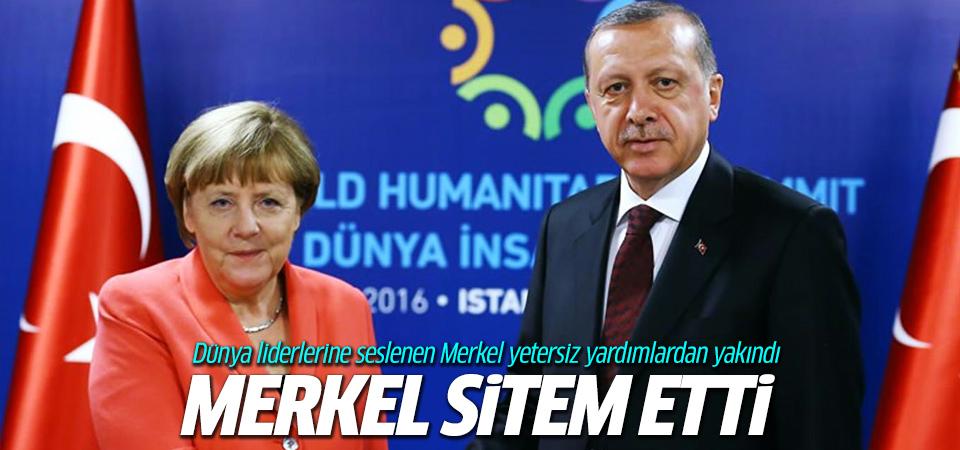 Almanya Başbakanı Merkel'den zirvede sitem
