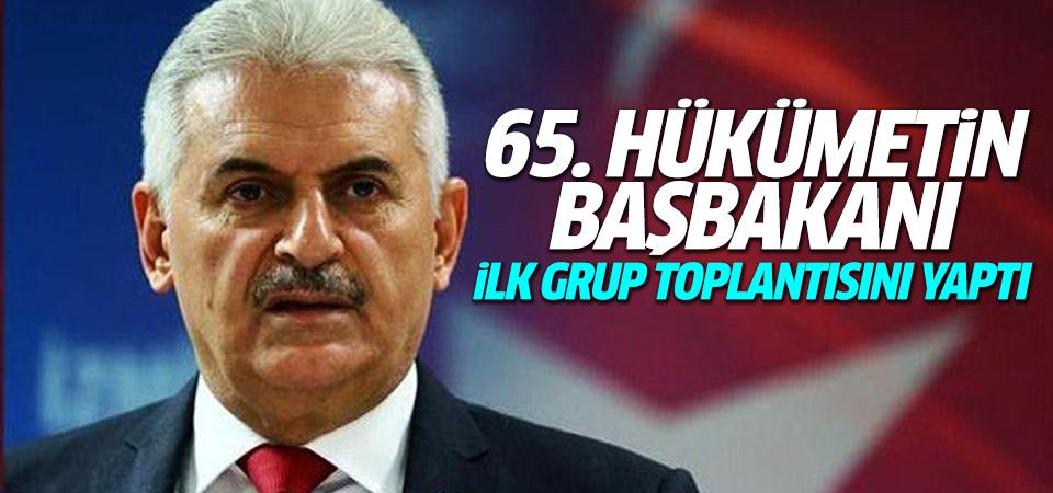 AK Parti Genel Başkanı Binali Yıldırım grup toplantısında konuştu
