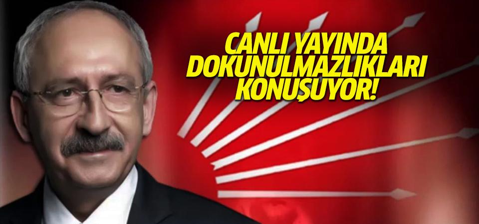 CHP lideri Kılıçdaroğlu, milletvekili dokunulmazlıkları ile ilgili konuşuyor