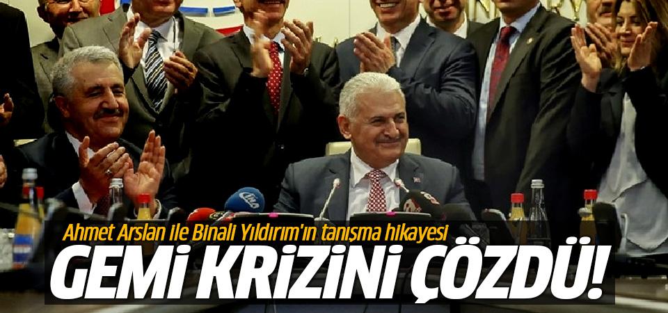 Ahmet Arslan ile Binali Yıldırım'ın tanışma hikayesi