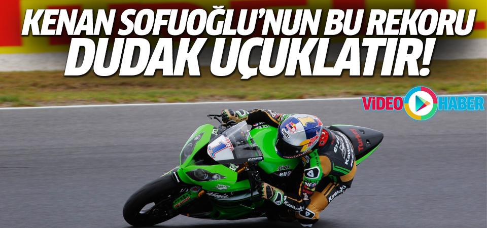 Kenan Sofuoğlu'dan dünya hız rekoru!