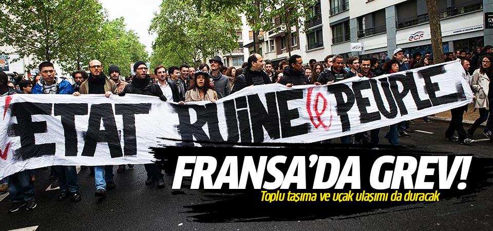 Fransa'da grev yayılıyor