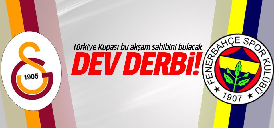 Nefesler tutuldu! Galatasaray ile Fenerbahçe'nin kupa randevusu!