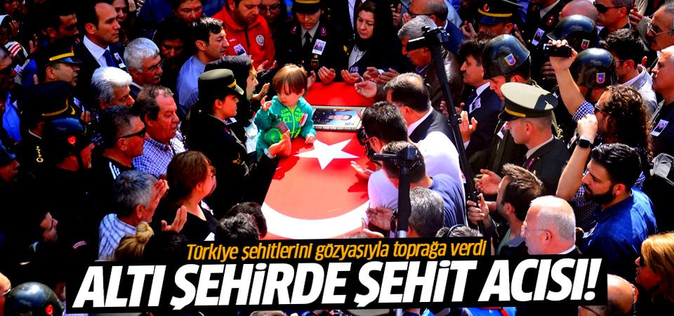 Türkiye şehitlerini gözyaşıyla toprağa verdi