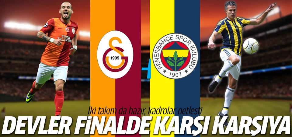 Türkiye Kupası Galatasaray-Fenerbahçe maçı saat kaçta? hangi kanalda?