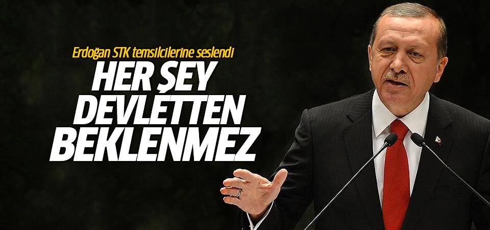 Erdoğan STK temsilcilerine seslendi