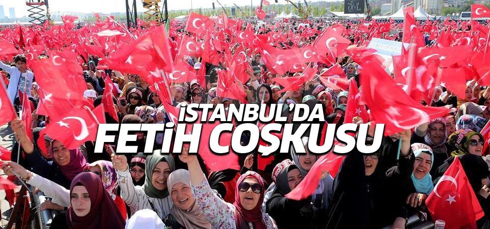 İstanbul Fetih kutlamaları 2016