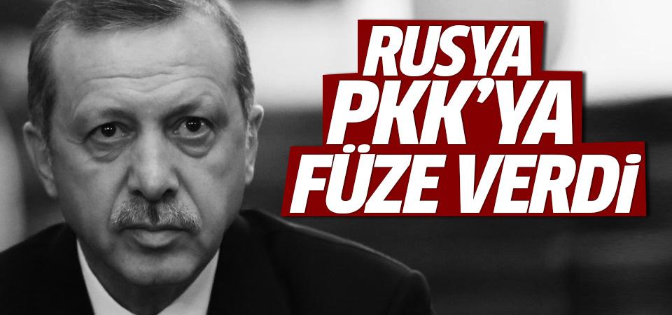 Erdoğan: PKK'nın elindeki füzeler Rusya'ya ait