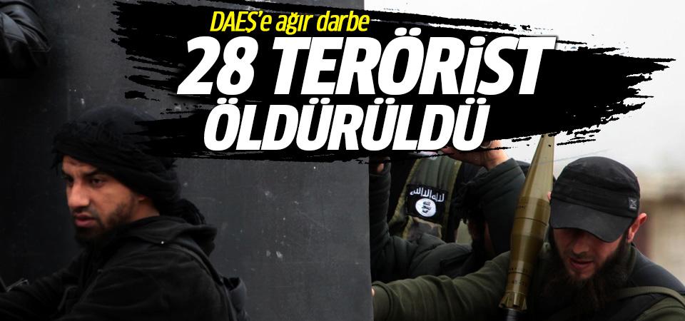 TSK: 28 DEAŞ'lı terörist öldürüldü