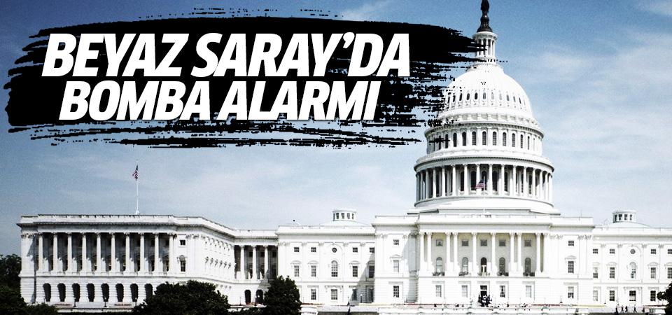 ABD'nin kalbi Beyaz Saray'da bomba alarmı!