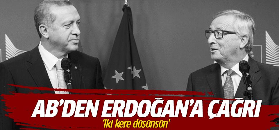 AB'den Erdoğan'a mülteci çıkışı