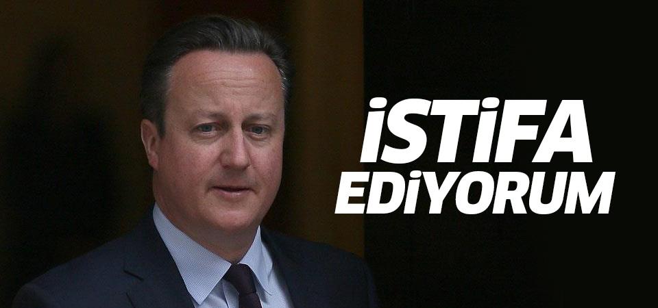 Cameron istifa edeceğini açıkladı!
