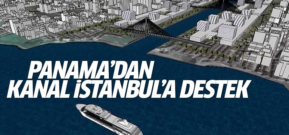 Panama'dan Kanal İstanbul'a teknik destek