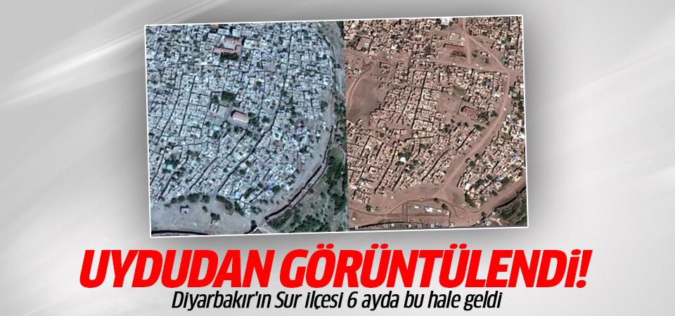 Diyarbakır Sur'un 6 ay önceki ve sonraki görüntüsü!