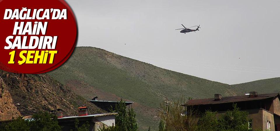 Dağlıca'da terör saldırısı: 1 şehit, 1 yaralı