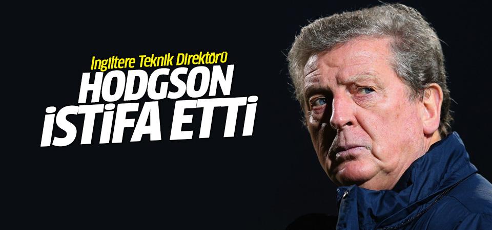 İngiltere Teknik Direktörü Hodgson istifa etti