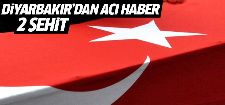 Diyarbakır'daki terör saldırısında 1 asker şehit oldu