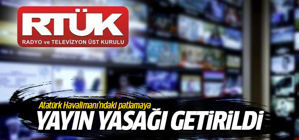 Atatürk Havalimanı saldırısıyla ilgili yayın yasağı getirildi