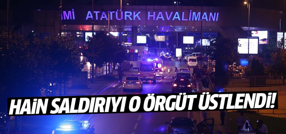 Atatürk Havalimanı'ndaki saldırıyı o örgüt üstlendi!