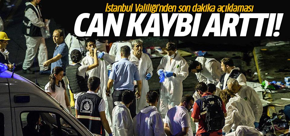 İstanbul Valiliği'nden son dakika açıklaması: Can kaybı arttı!