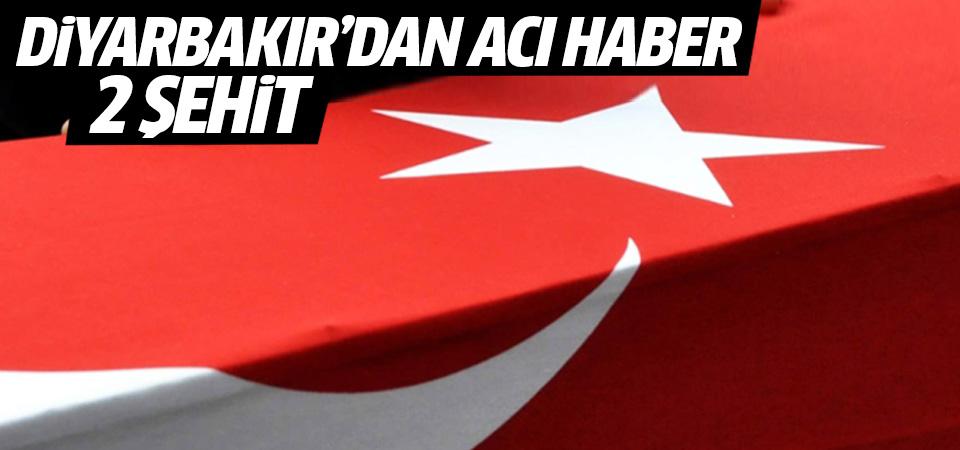 Diyarbakır'da çatışma: 2 asker şehit