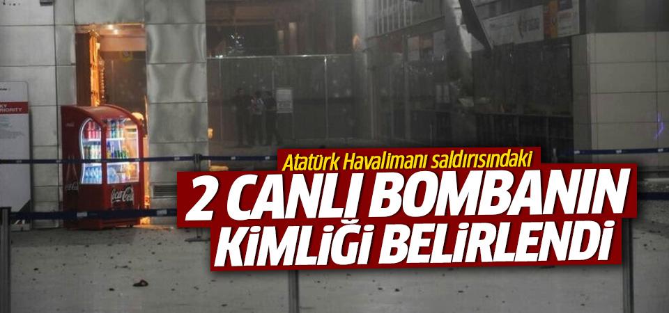 Atatürk Havalimanı saldırısındaki 2 canlı bombanın kimliği belirlendi